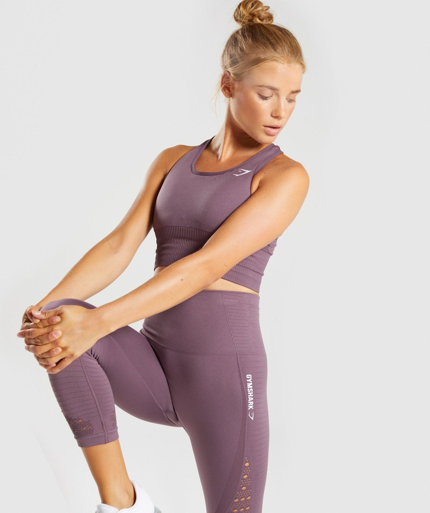 09de63e36af18 Gymshark Energy Seamless Crop Vest - Purple Wash 2