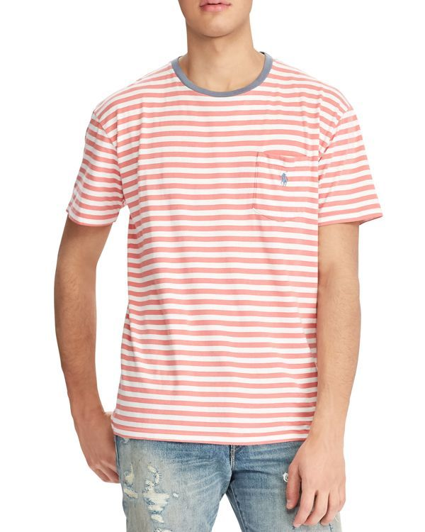 91a7e282 Polo Ralph Lauren Weathered Striped Classic Fit Tee | Products ...