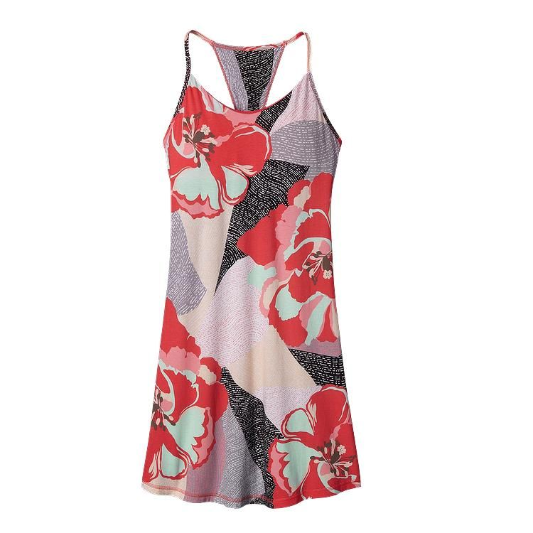 55b350761dd Patagonia Women  s Edisto Dress - Hibiscus Field  Shock Pink HCSP