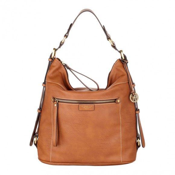 Tan Macey Bucket Bag
