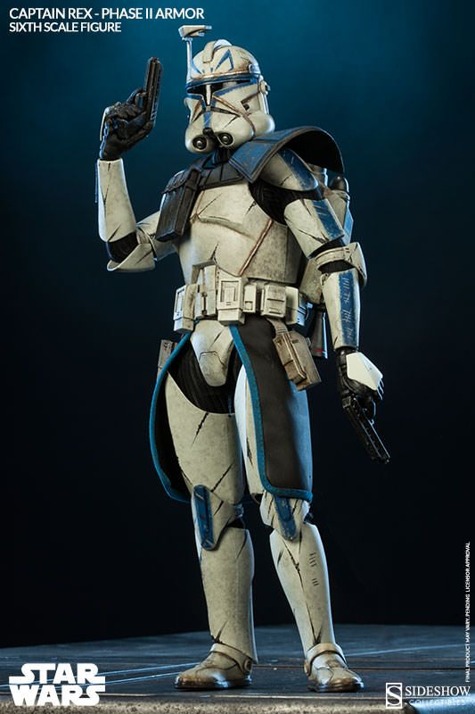 Captain Rex Phase 2 My Sideshow Collectibles Collection Star
