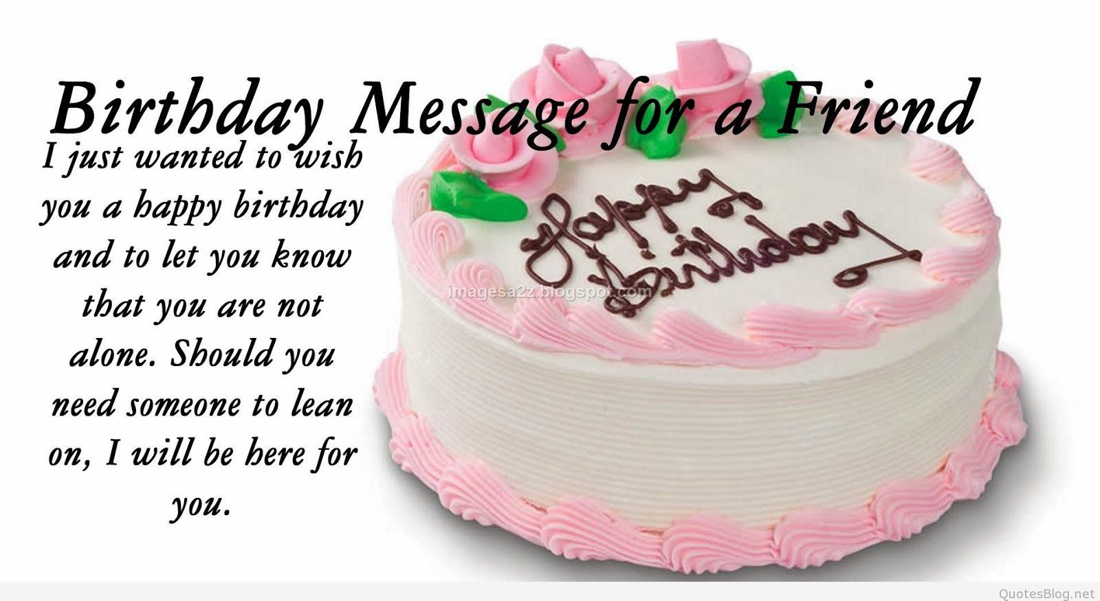 birthdaywishesforfriendsquotes3 Quotes – Quotes About Birthday Greetings