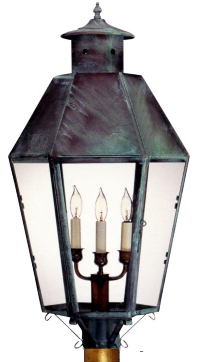 Franklin post light copper lantern copper lantern franklin post light copper lantern aloadofball Choice Image