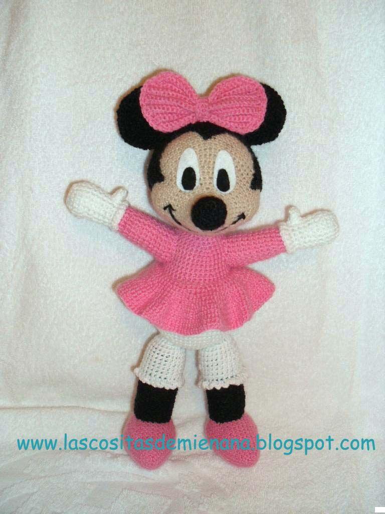 Hola!! La Minnie que he realizado de amigurumi es una version que ...