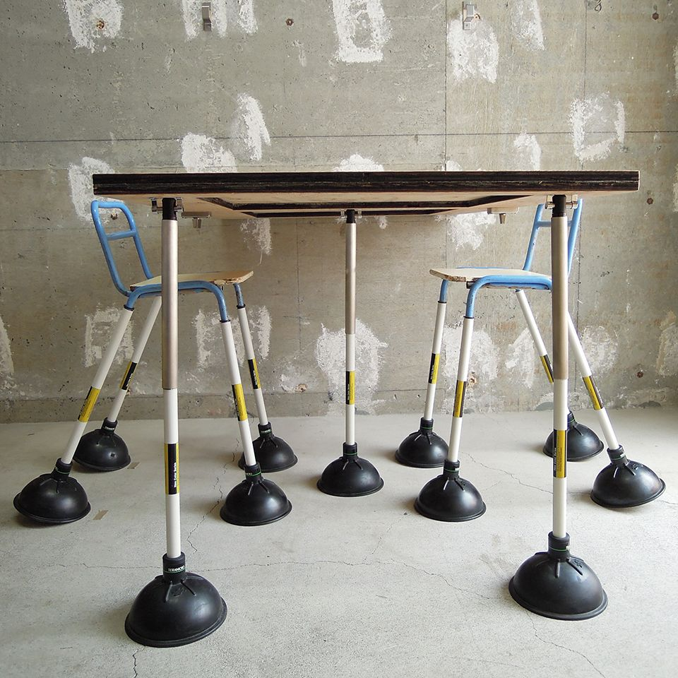 Plunger Table/Chair noiz architects Table and chairs