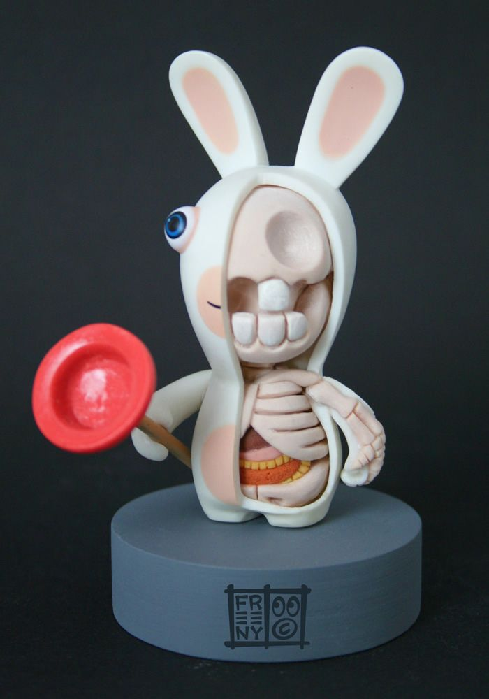 Character Anatomy Sculptures by Jason Freeny | Abduzeedo Design ...