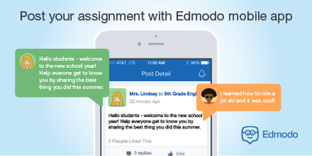 Resolve to be more connected with your #students in #2016 using our free mobile app.