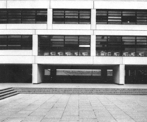 Fuck Yeah Brutalism | Hampstead School, London, England, 1960s ...