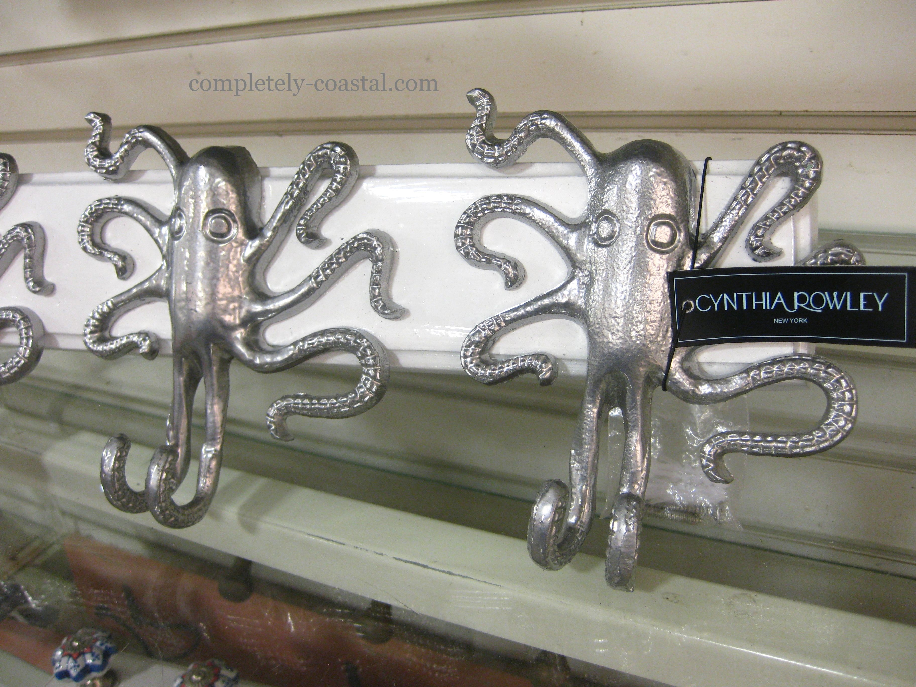 Cool Octopus Hooks Seen At Home Goods In Delray Fl They Had Lots Of Other Great Coastal Decorations Too
