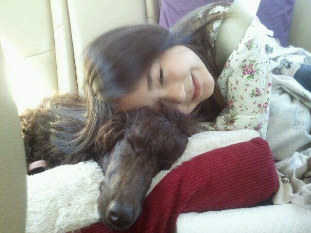 We're on the road!  CoCo and Ella. Summer 2011