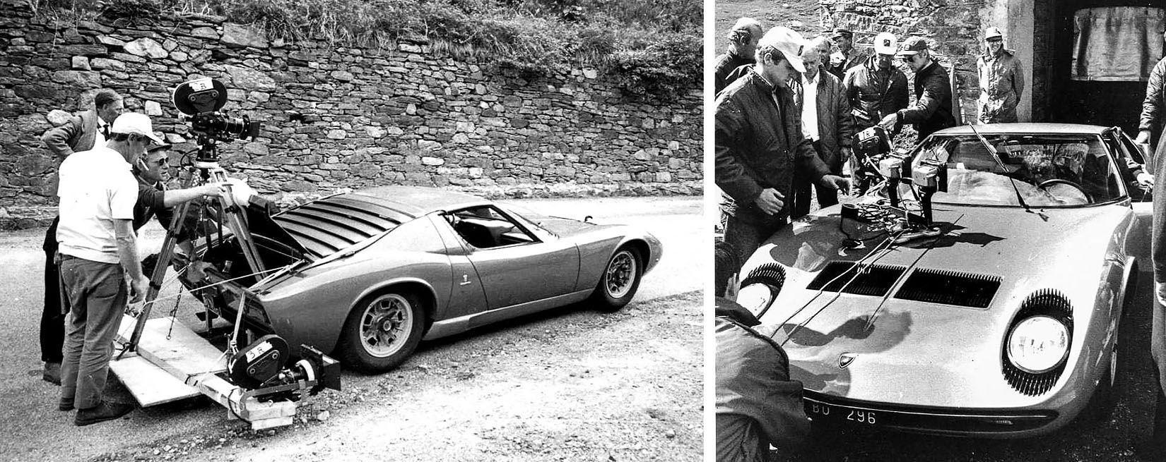 Pin By Jeff Horner On The Italian Job Lamborghini Miura Classic