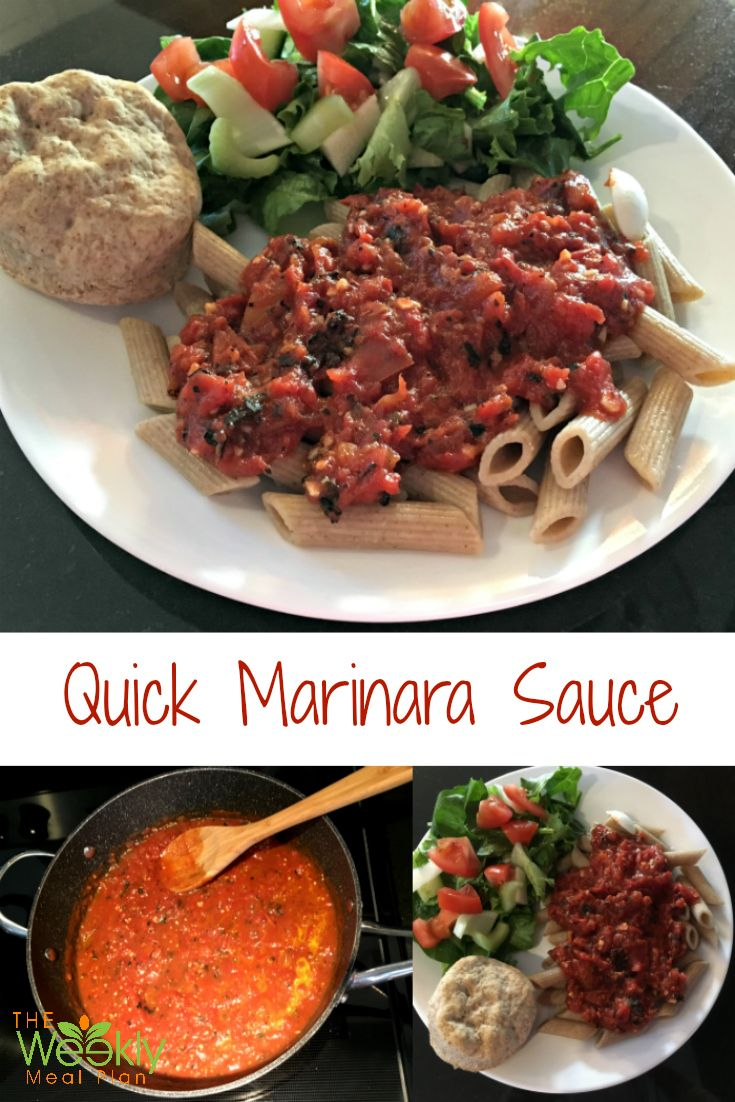 Need A Quick Supper Idea Here Is Recipe For Marinara Sauce From Scratch That