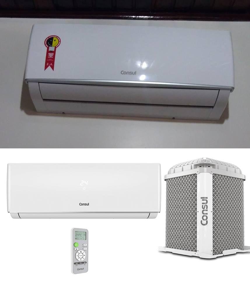 Ar Condicionado Split 9000 Btus Consul Frio Maxi Refrigeracao E