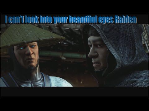 Mortal Kombat X - Story chapter 4 (I rage) - Whose eyes are more beautif...