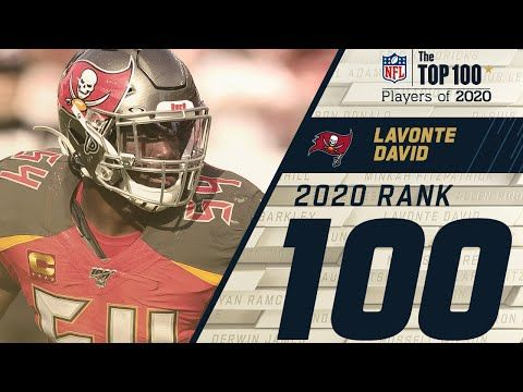 100 Lavonte David Lb Buccaneers Top 100 Nfl Players Of 2020 Youtube In 2020 Nfl Players Nfl Football Helmets