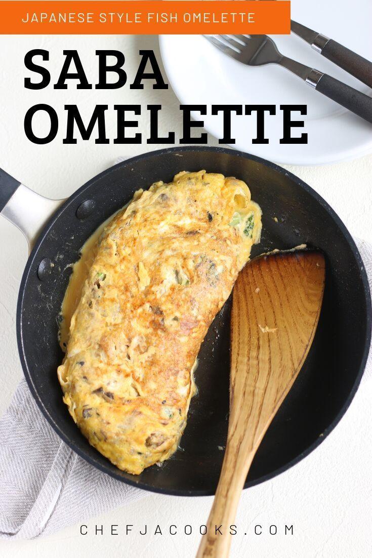 easy omelette with canned mackerel  recipe  mackerel