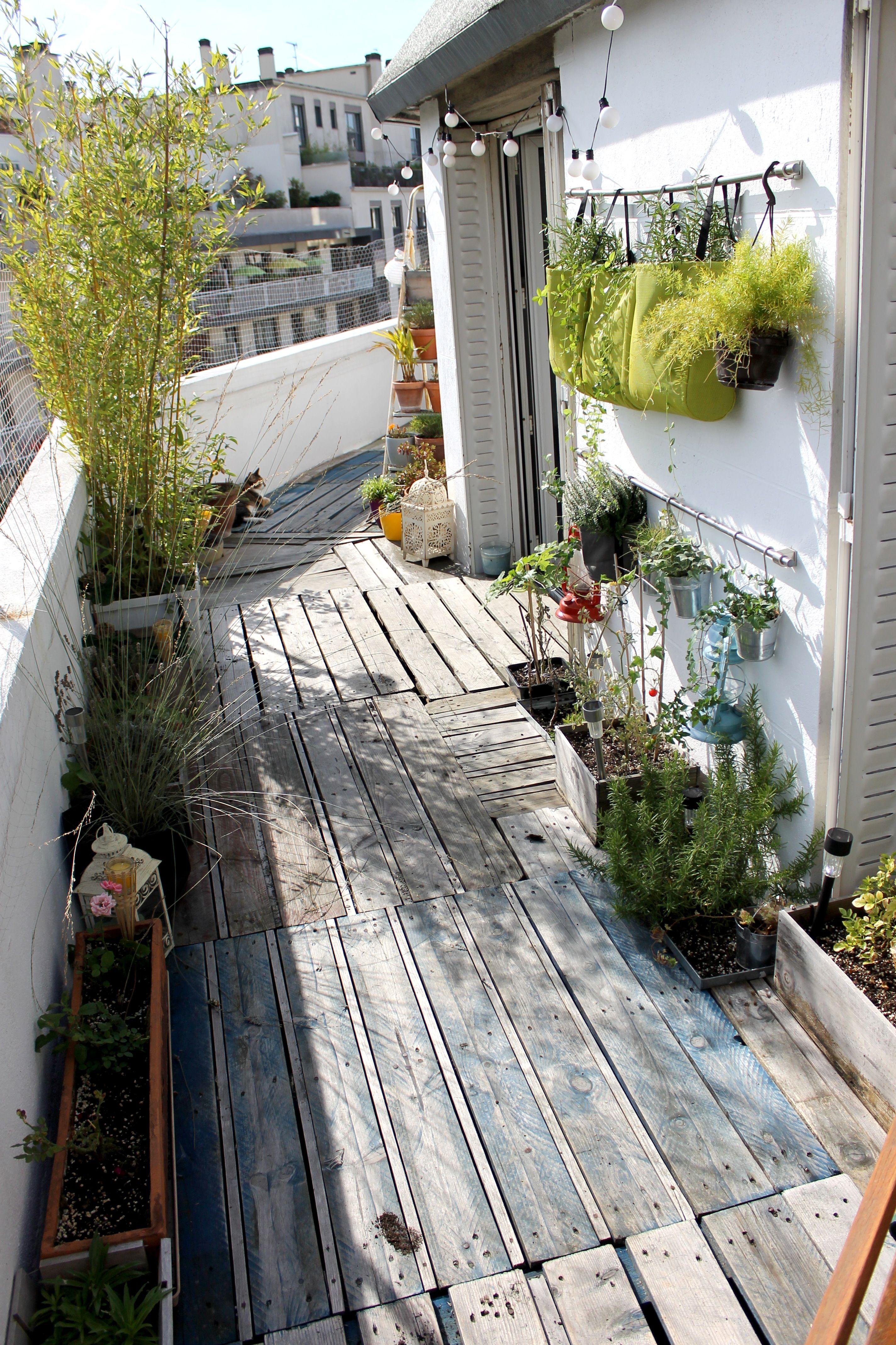 mon coin de verdure parisien en 2019 balcon terrasse. Black Bedroom Furniture Sets. Home Design Ideas