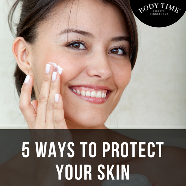 Skin care comes down to practicing good habits. Here are five tips that can help guard against skin cancer, chapped skin, dryness, and more. Click here:  http://qoo.ly/fssm4