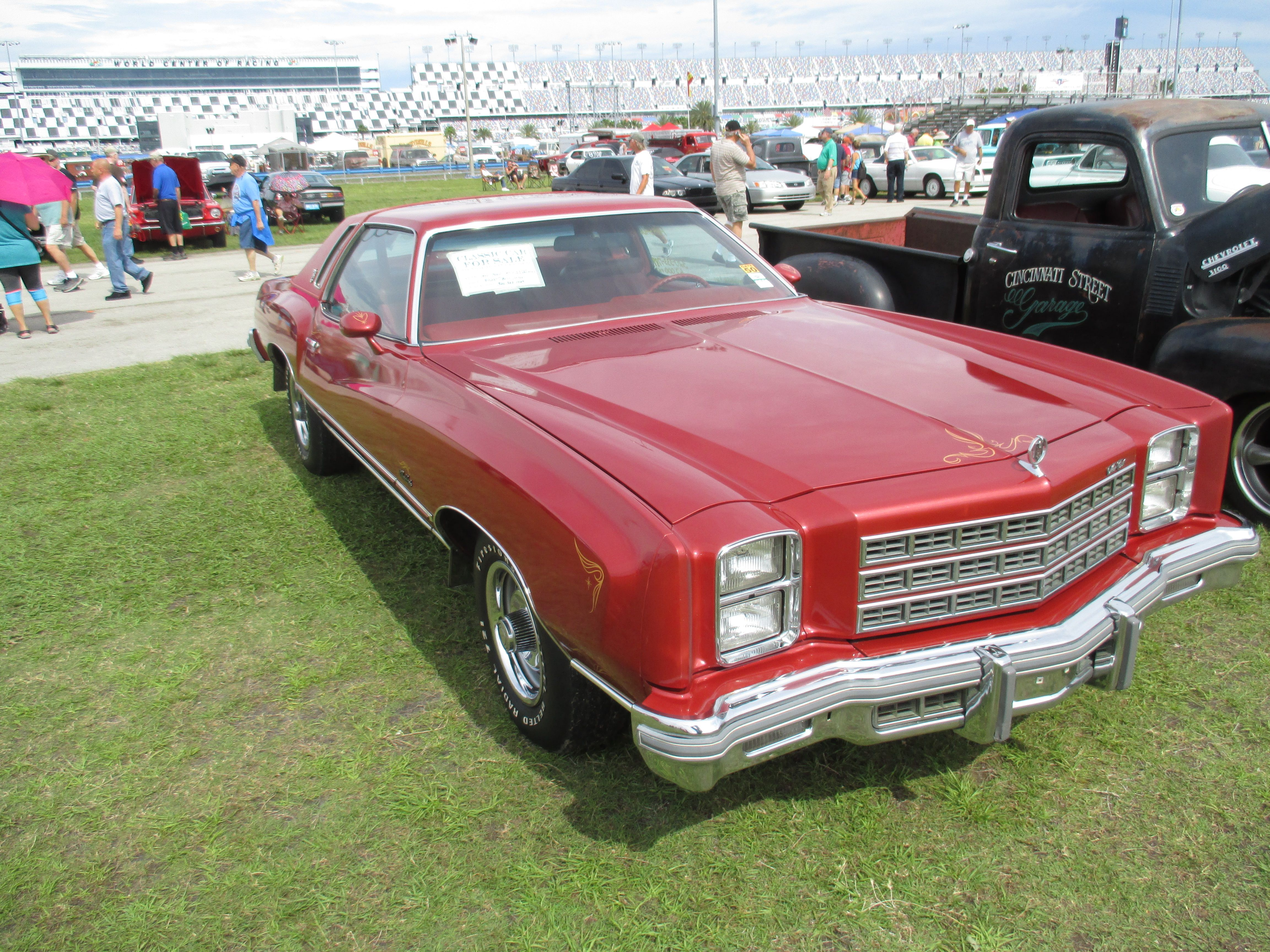 77 Monte Carlo one of the prettiest I have ever seen Spring Daytona
