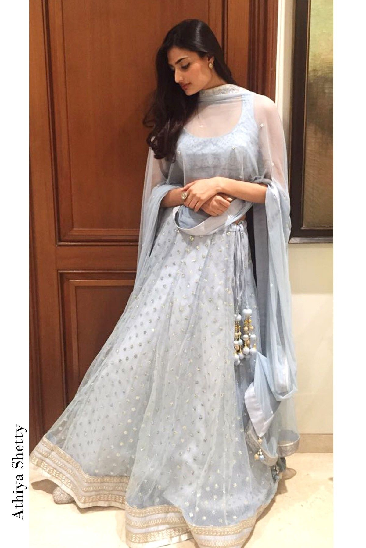 d9a19ffe38 Ice Blue Net Embroidered Lehenga Choli With Dupatta | beautiful ...
