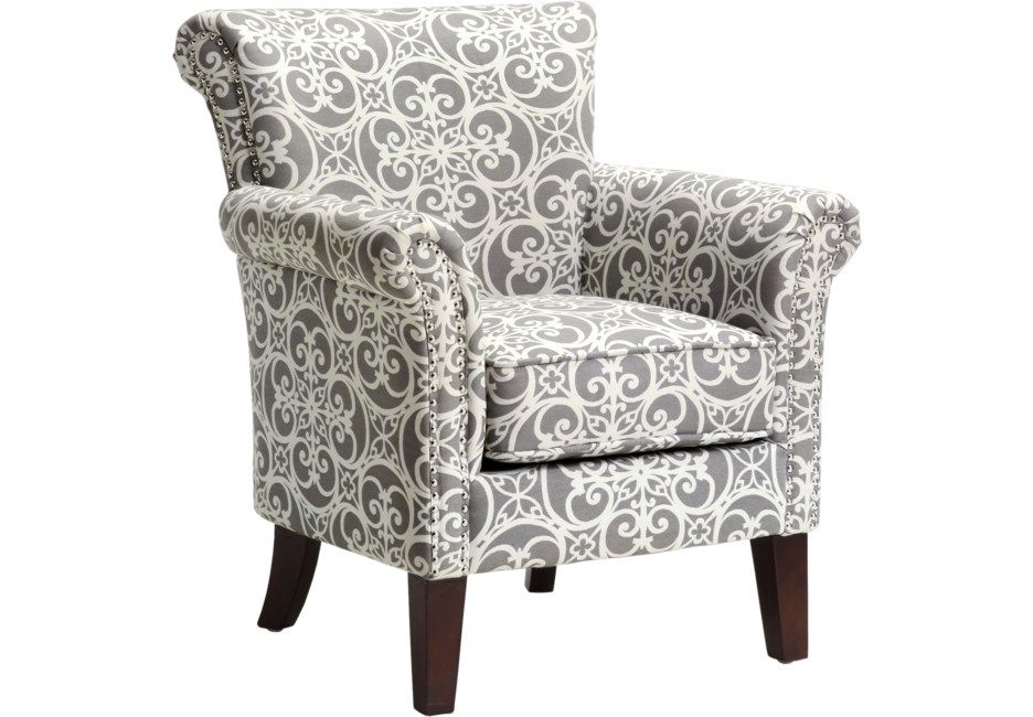 Parwood Gray Accent Chair Comfortable Accent Chairs Accent