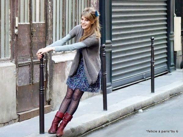 Anaïs + Lucie | Félicie à Paris | semi sheer tights | Pinterest ...