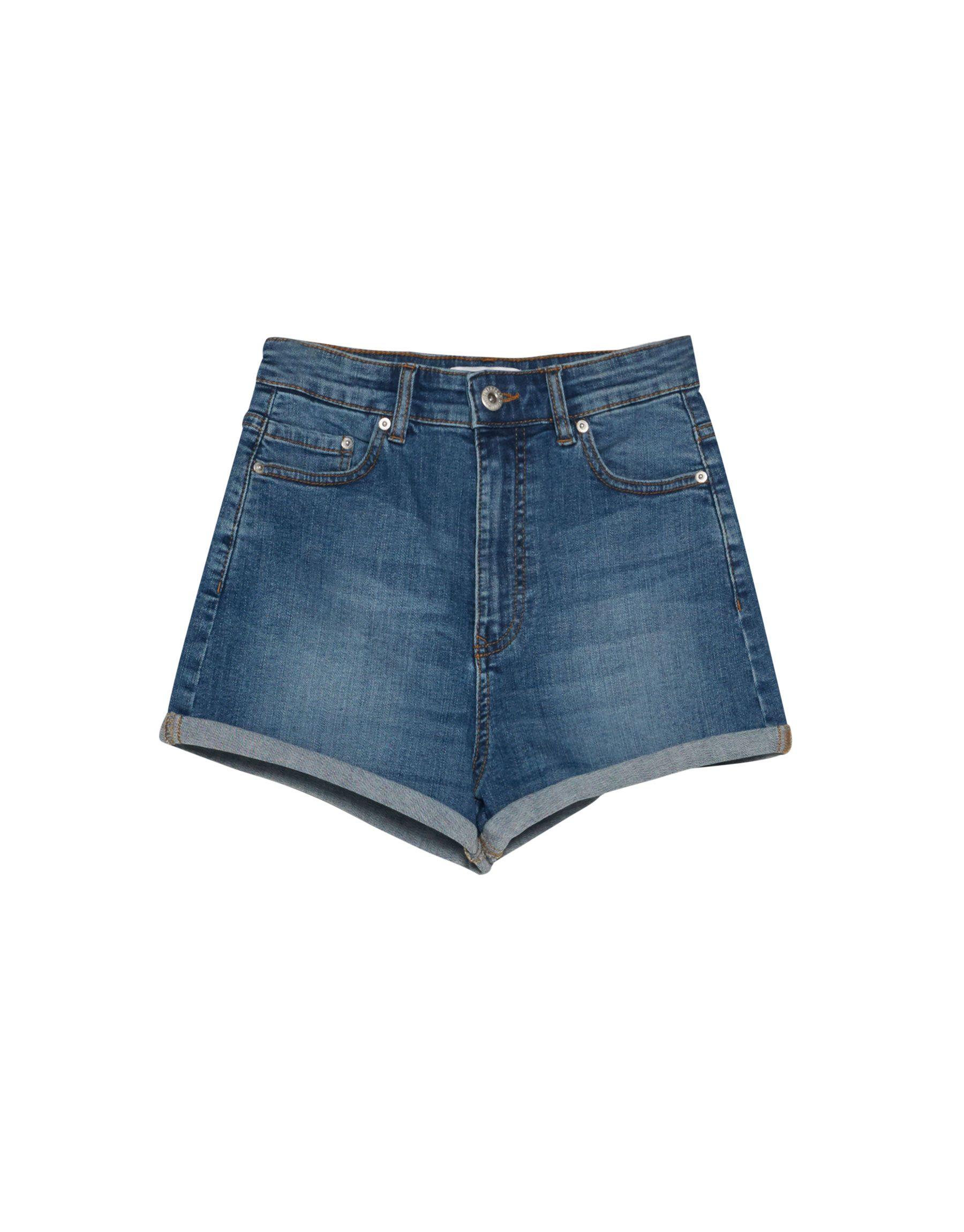 5f95717aa6865 Calções de ganga cintura subida - Bermudas E Shorts - Vestuário - Mulher -  PULL BEAR Portugal