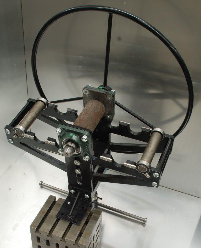 """New Ring roller, bender 150mm/6"""" width, metal rollers in ..."""