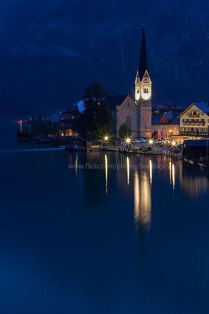 Dawn at Hallstatt, Austria