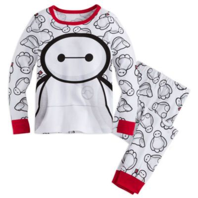 Big Hero 6 Baymax Cotton Boys Toddler Kids pyjamas pajamas T-shirt Sleepwear Set