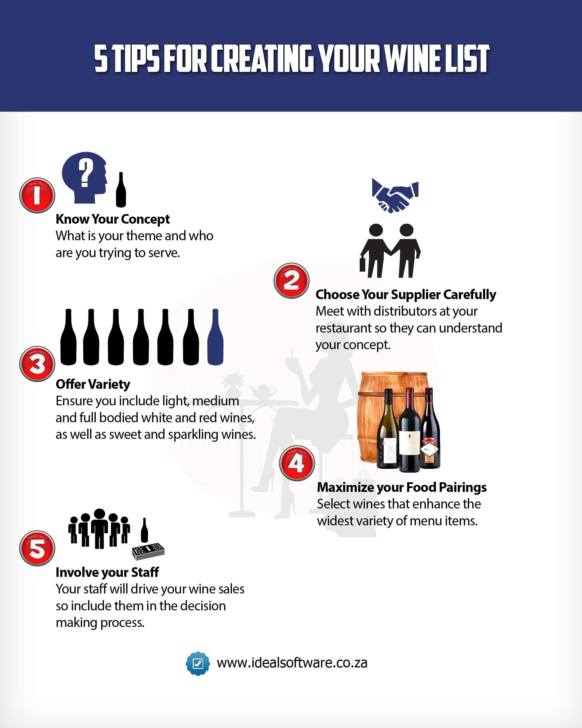 Tips for Creating a Restaurant Wine List | Restaurant Reads | Wine