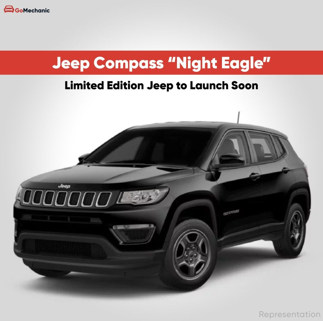 Limited Edition Jeep Compass Night Eagle Teased In 2020 Jeep Compass Jeep Eagle