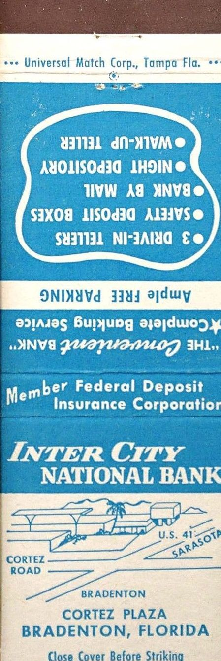 126 Inter City National Bank Bradenton Fl With Images City National National Social Security Card