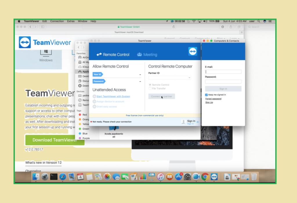 Teamviewer 13 Mac Crack Free Licenses Key | MAC & Pc
