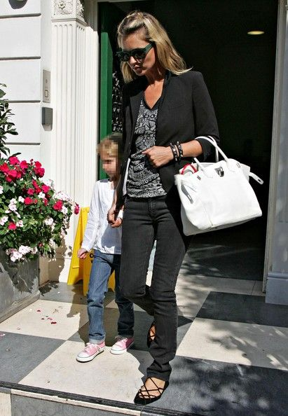 Kate Moss Leather Tote With Images