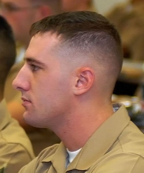 Get A Neat And Smart Military Man Hair Styles Best Of - Army cut hairstyle 2014