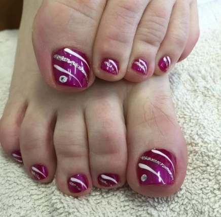 fails art toe 31 ideas  easy toe nail designs toe nail