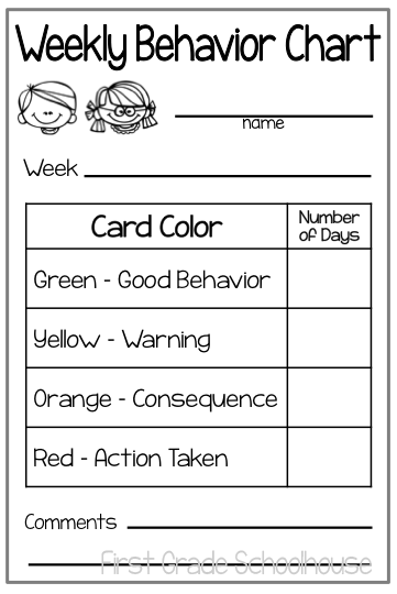 Behavior Charts And Parent Communication Im Doing This For My