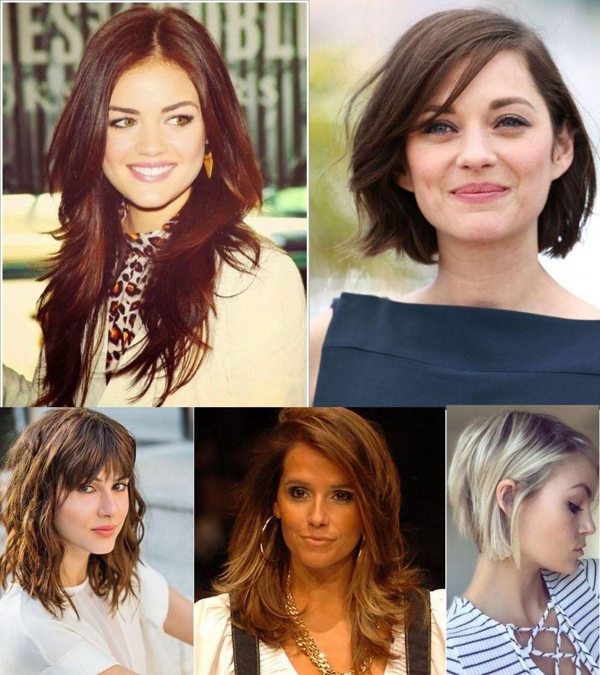 Tendências e modelos de cortes de cabelo modernos 2018  Modelos e fotos de  cortes de curtos, longos, repicados, em camadas para cada tipo de rosto. aed03d7e32