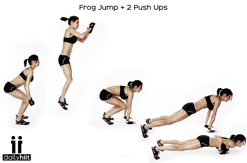 Image result for Frog Jump Burpees