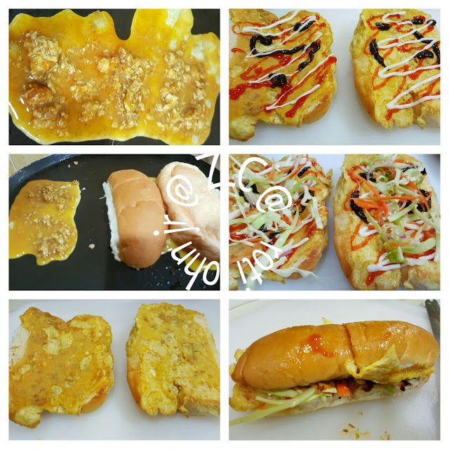 Zulfaza Loves Cooking Roti John Jr Untuk Moreh 1 Ramadhan