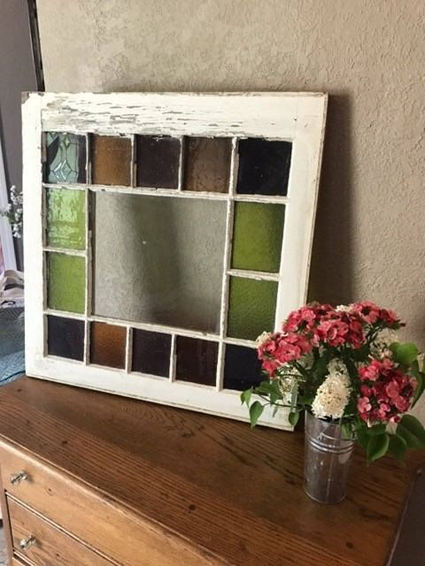 Stained Glass Windows In Queen Anne Style The Stained Glass Colors And Condition Vari Diy Stained Glass Window Stained Glass Diy Antique Stained Glass Windows