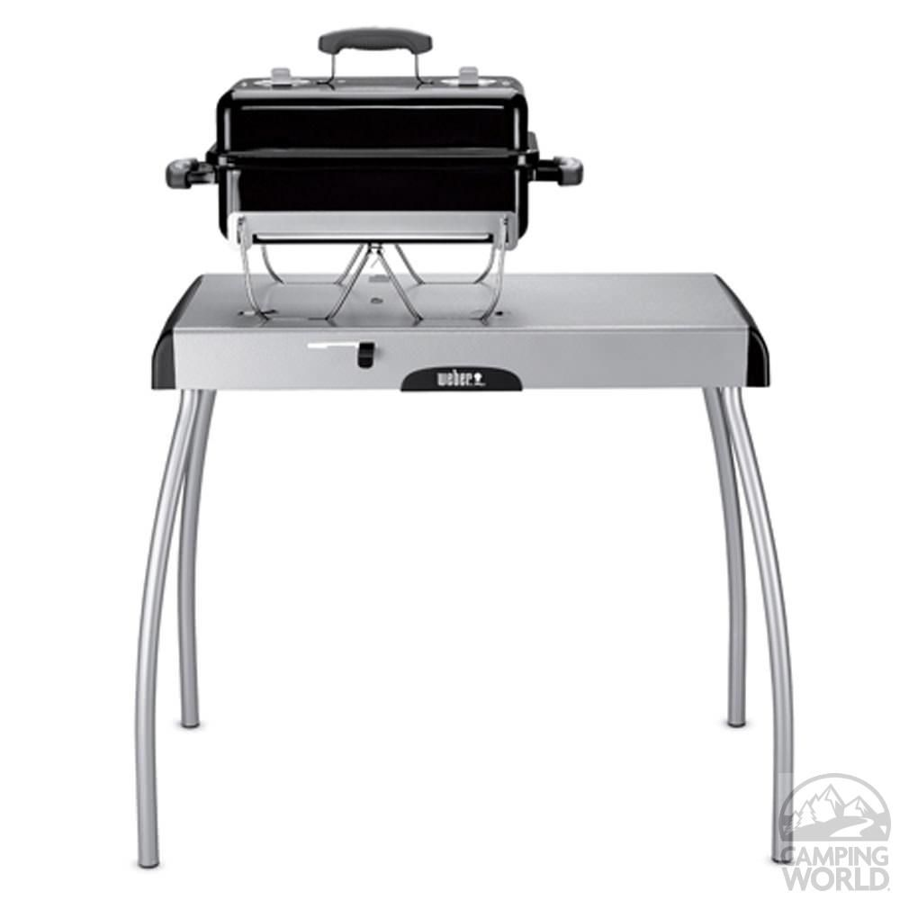 Weber Portable Charcoal Grill Table Weber 7445 Grill