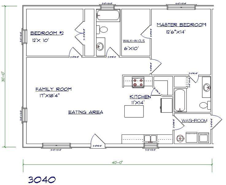 Barndominium House Plans Joy Studio Design Gallery Best Design Barndominium Floor Plans 30x40 House Plans Barndominium Plans