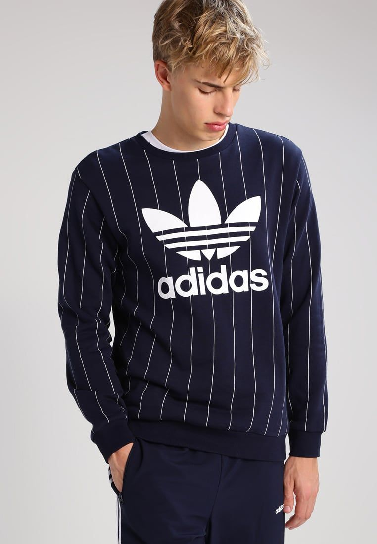 adidas Originals Sudadera - dark blue - Zalando.es ...