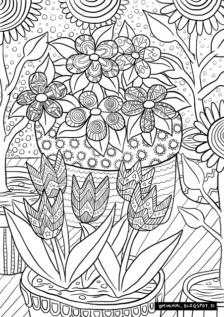 Optimimmi: Free coloring pages.