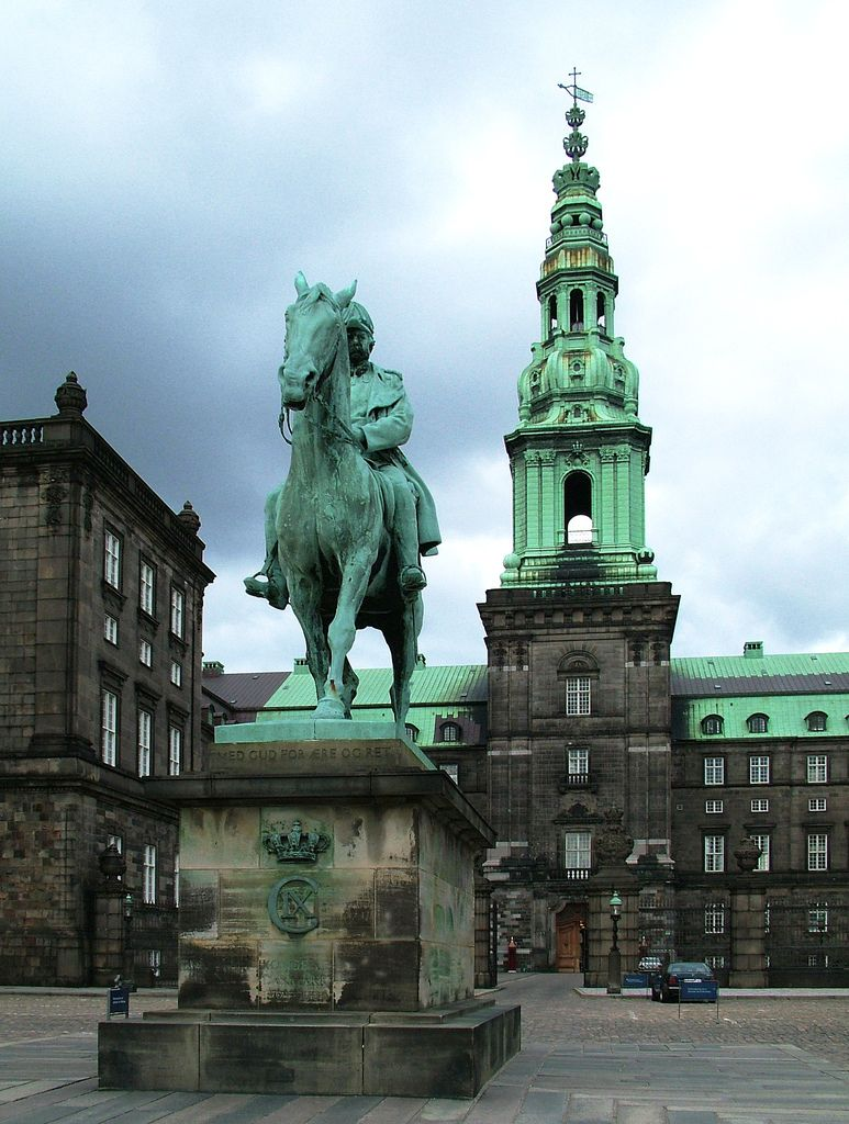 """Christiansborg Palace has a more than 800 year-long history as the state's centre of power, and today the palace includes several institutions of  central importance. """"The Folketing"""" (The parliament) has at its disposal most of the rooms in the palace, but the Prime Minister, the High Court, and the Royal Reception Rooms are also located here."""