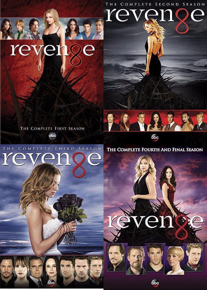 Revenge Seasons 1-4 (DVD)