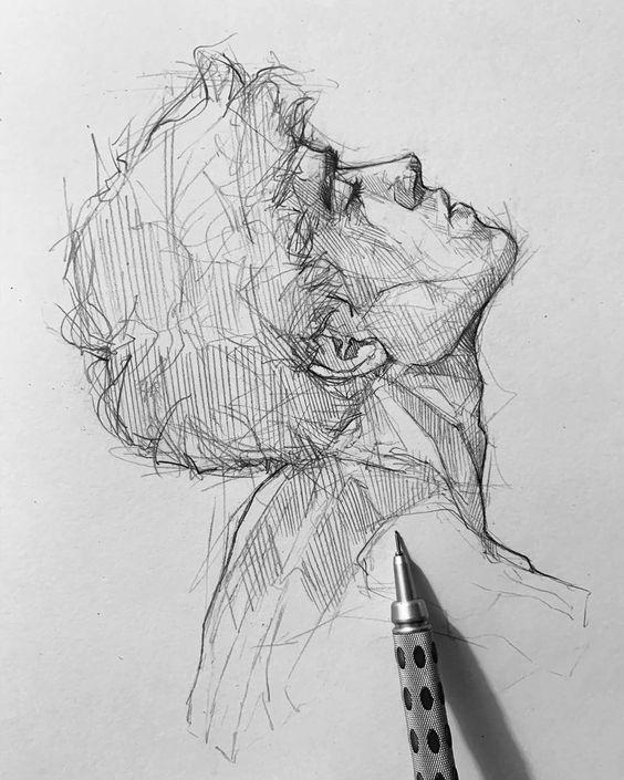 Pencil Sketch artist Efraín Malo - Art - ARTWOONZ