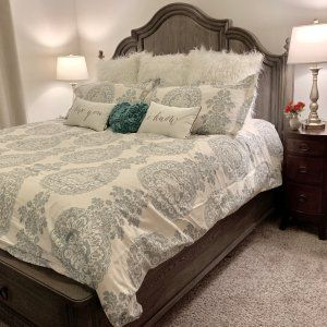 Lucianna Medallion Percale Duvet Cover Amp Shams Gray In